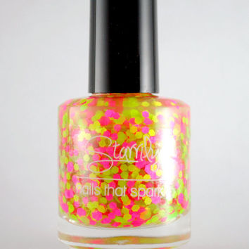 Oh My Melons - Handmade nail polish Full bottle