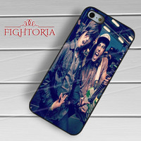 Sleeping With Sirens Kellin Quinn Vic Fuentes pierce the veil - zDzA for  iPhone 6S case, iPhone 5s case, iPhone 6 case, iPhone 4S, Samsung S6 Edge