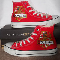 Harry Potter Gryffindor House Converse All by CustomConverseUK