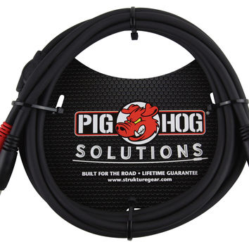 "Pig Hog Solutions TRS(M)-Dual 1/4"" Insert Cable"
