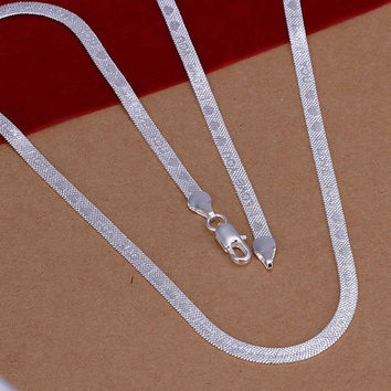 silver plated Chain I LOVE YOU Necklaces Pendants Men jewelry 2 1 MP