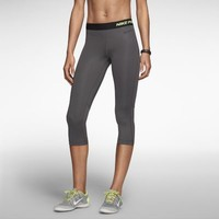 Nike Pro Hypercool Women's Capris - Dark Base Grey