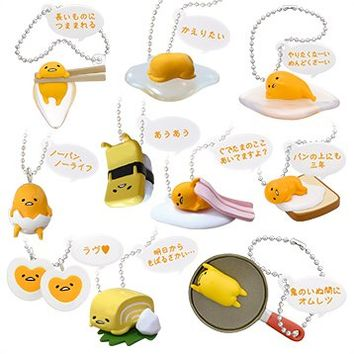 Gudetama Full Mascot (Set of 10 pieces)
