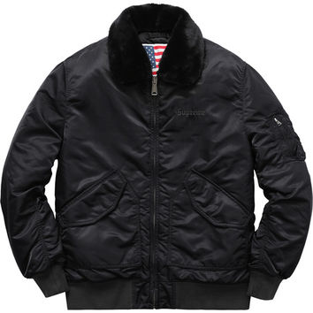 Supreme: Tanker Jacket - Black