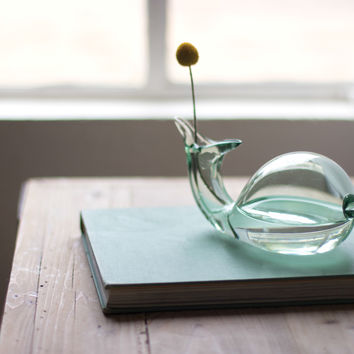 Small Glass Fish Vase