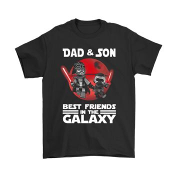 ONETOW Dad And Son Best Friends In The Galaxy Shirts