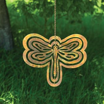 Cutout Dragonfly Hanging Ornament - New item!