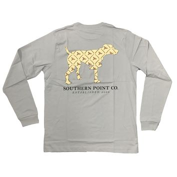 Southern Point, Signature Long Sleeve Tee, SLT-341G
