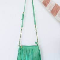 My Love For Fringe Purse: Seafoam