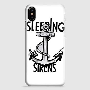 Sleeping With Sirens Anchor Kellin Quinn iPhone X Case