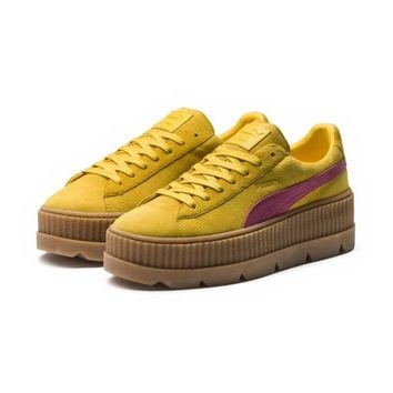 FENTY Suede Cleated Creeper Women's | Rosin-Lemon-Vanilla Ice | PUMA Fenty Puma By Rihanna | PUMA United States