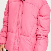 Missguided - Pink Ultimate Oversized Padded Jacket