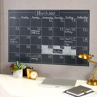 Peel and Stick Chalkboard Calendars