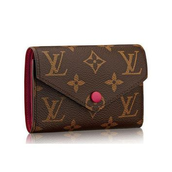 DCCK Louis Vuitton Monogram Canvas Victorine Wallet Article: M41938