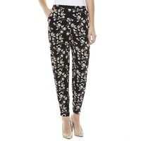 LC Lauren Conrad Floral Tapered Soft Pants - Women's