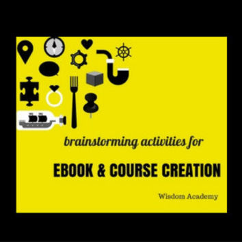 Brainstorming Activities For EBook and ECourse Creation Teachable Digital Download