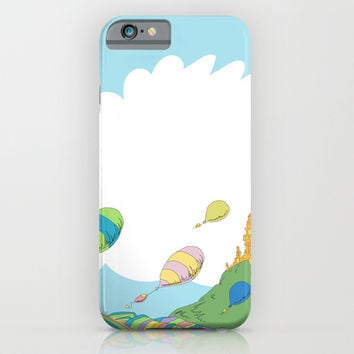 oh the places you'll go .. dr seuss iPhone & iPod Case by Studiomarshallarts
