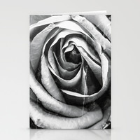 Vintage Rose Stationery Cards by  Loredana