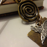 Metal Eagle Bookmark, Masculine Gift, Gift Under 20, Books and Zines, Handmade