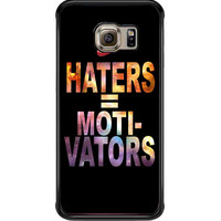Nike Haters Motivation Custom For Samsung Galaxy S6 Edge Case **