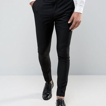Selected Homme Super Skinny Tuxedo Suit Pants at asos.com