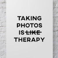 Photographer Poster Photo Therapy - POSTER029