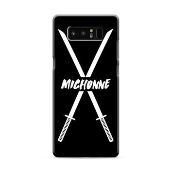 Michonne swords The Walking Dead Samsung Galaxy Note 8 Case