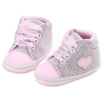 Paris METRO Couture: Baby Girl You Are So Cute in Your Pink Dot Sneakers