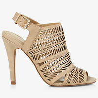LASER CUT RUNWAY BOOT from EXPRESS