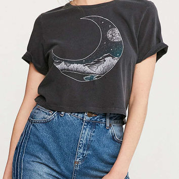 Future State Cropped Moon Scene Tee | Urban Outfitters
