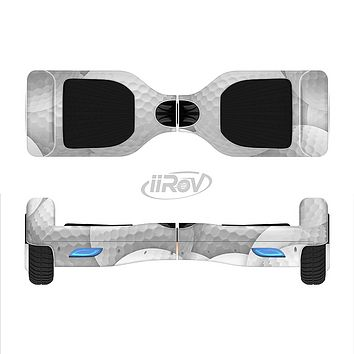 The Golf Ball Overlay Full-Body Skin Set for the Smart Drifting SuperCharged iiRov HoverBoard