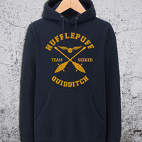 Hufflepuff Quidditch Hoodie Harry Potter Unisex Hoodies