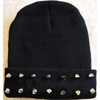 Spiked Beanie from Hazed