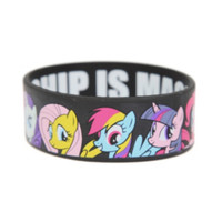 My Little Pony Group Rubber Bracelet