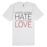 haters gonna hate, mahomies gonna love-Unisex White T-Shirt