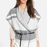 Women's Hinge Stripe Cape,