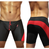 ErgoWear FEEL Swim Trunk Color Black-Red