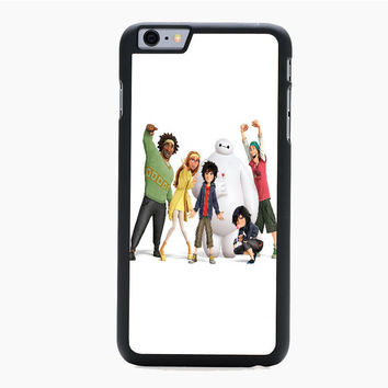 big hero 6 chracters all For iPhone 6 Plus iPhone 6 Case