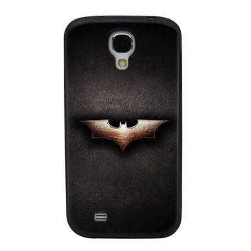 Batman Gothic Emblem Design TPU Soft Shell Jelly Silicone Case for Samsung Galaxy S4