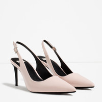 SLINGBACK HIGH HEEL SHOES - View all-SHOES-WOMAN | ZARA United Kingdom