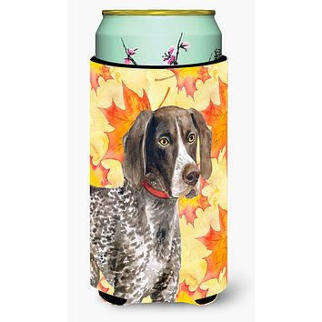 German Shorthaired Pointer Fall Tall Boy Beverage Insulator Hugger BB9902TBC