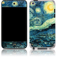 Apple iPod Touch 4th 5th Gen Skin Cover - Vincent Van Gogh Starry Night Art