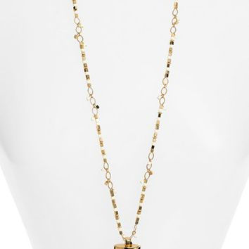 Tory Burch Wrapped Horn Pendant Necklace | Nordstrom
