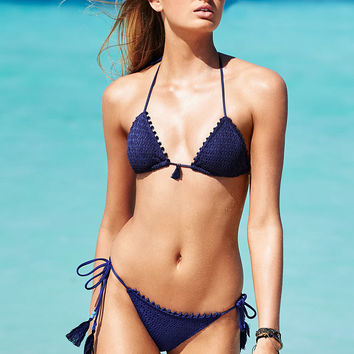 The Tassel Teeny Triangle Top - Beach Sexy - Victoria's Secret