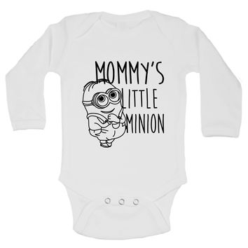 Mommy's Little Minion Funny Kids Onesuit