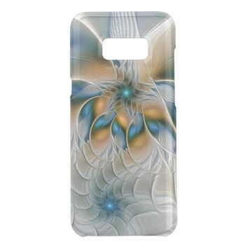 Soaring, Abstract Fantasy Fractal Art With Blue Get Uncommon Samsung Galaxy S8 Plus Case