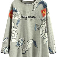 Easy Come, Easy Go Fall Style Sweatshirt