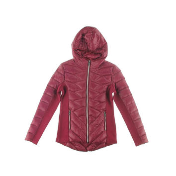 BCBGeneration Womens Duck Down Quilted Puffer Jacket