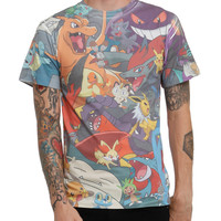 Pokemon Everybody Sublimation T-Shirt