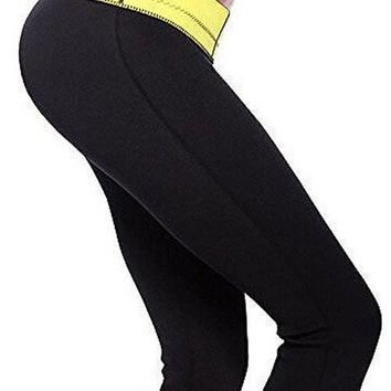 NICKY YELLOW NEOPRENE PANTS